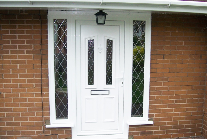 Birmingham Front and Rear PVCu Entrance Doors