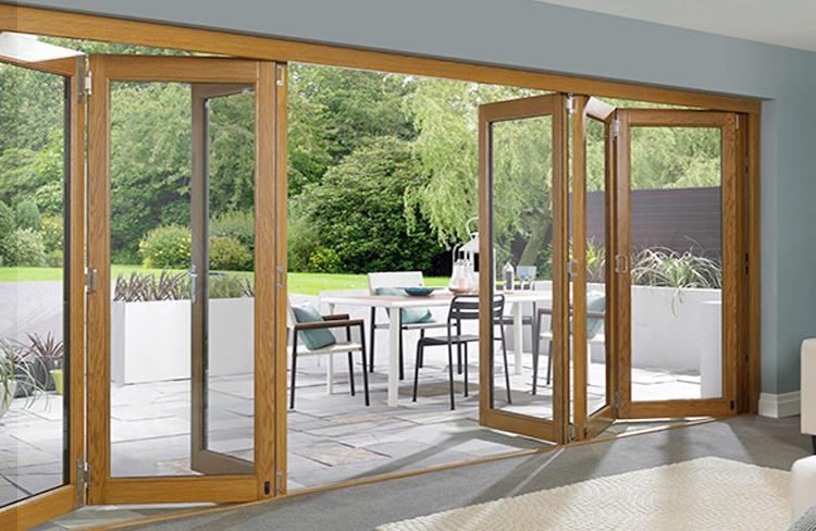 Pvcu & Aluminium Bi Fold Doors